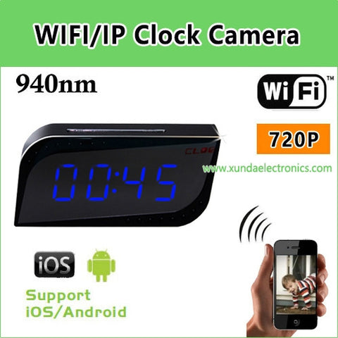 SPY WIFI CLOCK