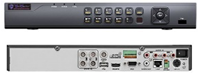 4 Channel H.265 4K 1U 1HDD BAY TVI xDVR
