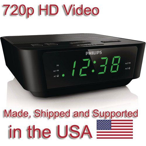 SPY Clock Radio Super Covert