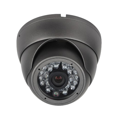 2MP HD 4-Way 1080P Armored Turret Mini Dome Camera, 2.8mm lens, Grey