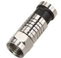Connector male Compres. for RG-6 cable