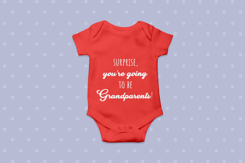 Surprise! You're Going To Be Grandparents!