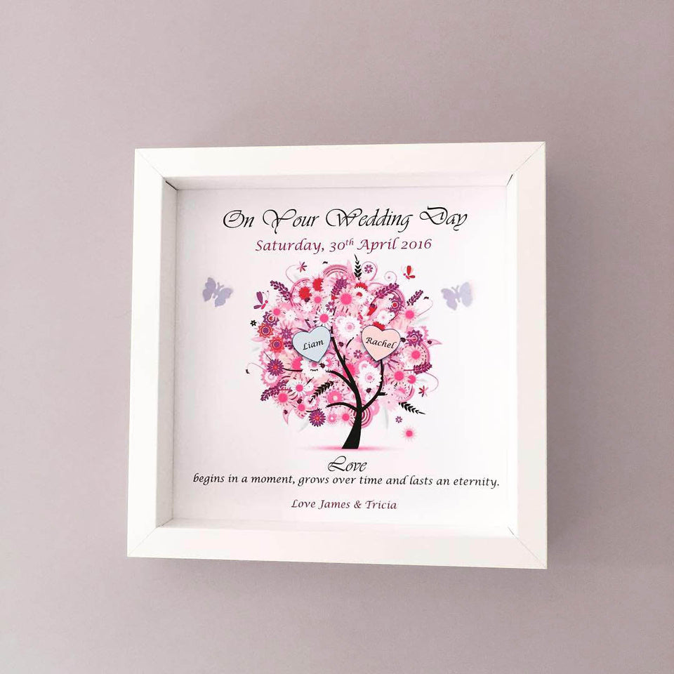 Wedding Love Tree Frame