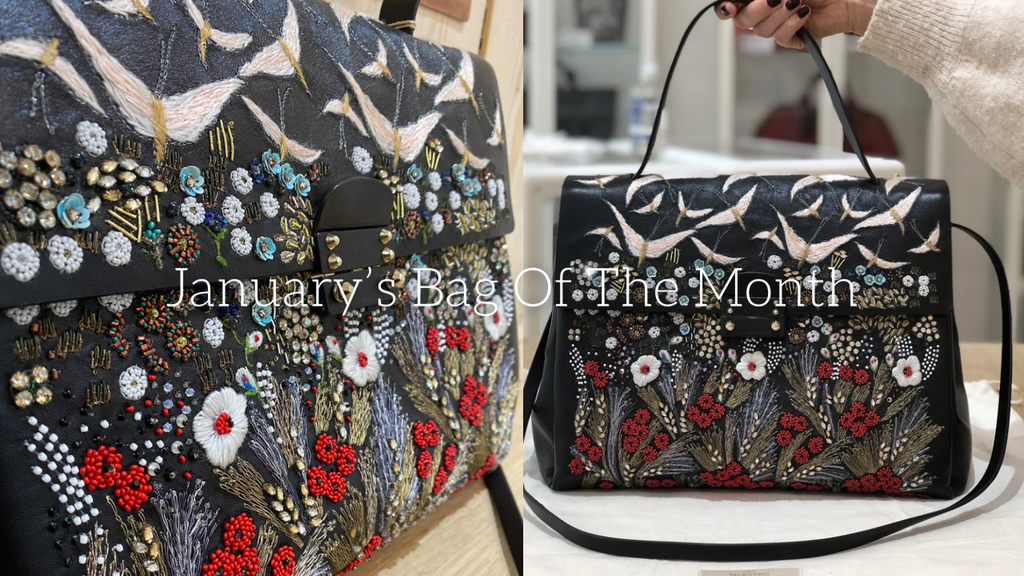 January 2021 Bag Of The Month... Beaded Valentino!