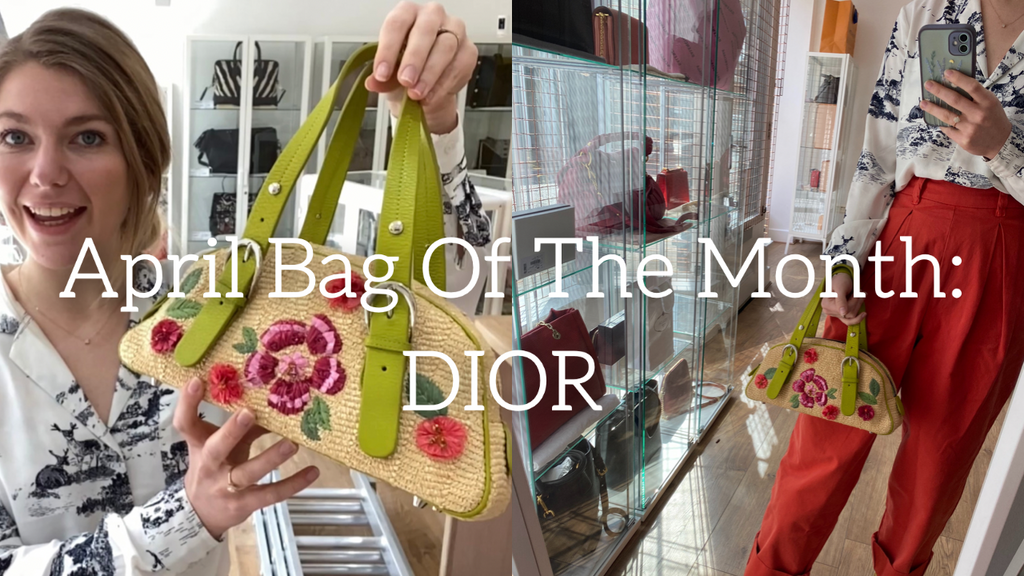 April's Bag Of The Month: Vintage Dior.
