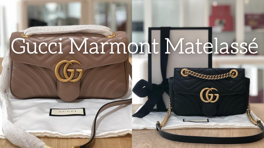 Bag Of The Month: March = Gucci Marmont Matelassé.