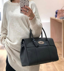 Mulberry Bayswater in Graphite