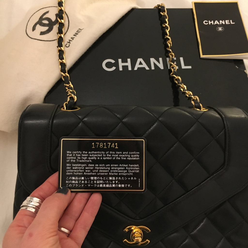 Chanel Flap Bag Authent Card