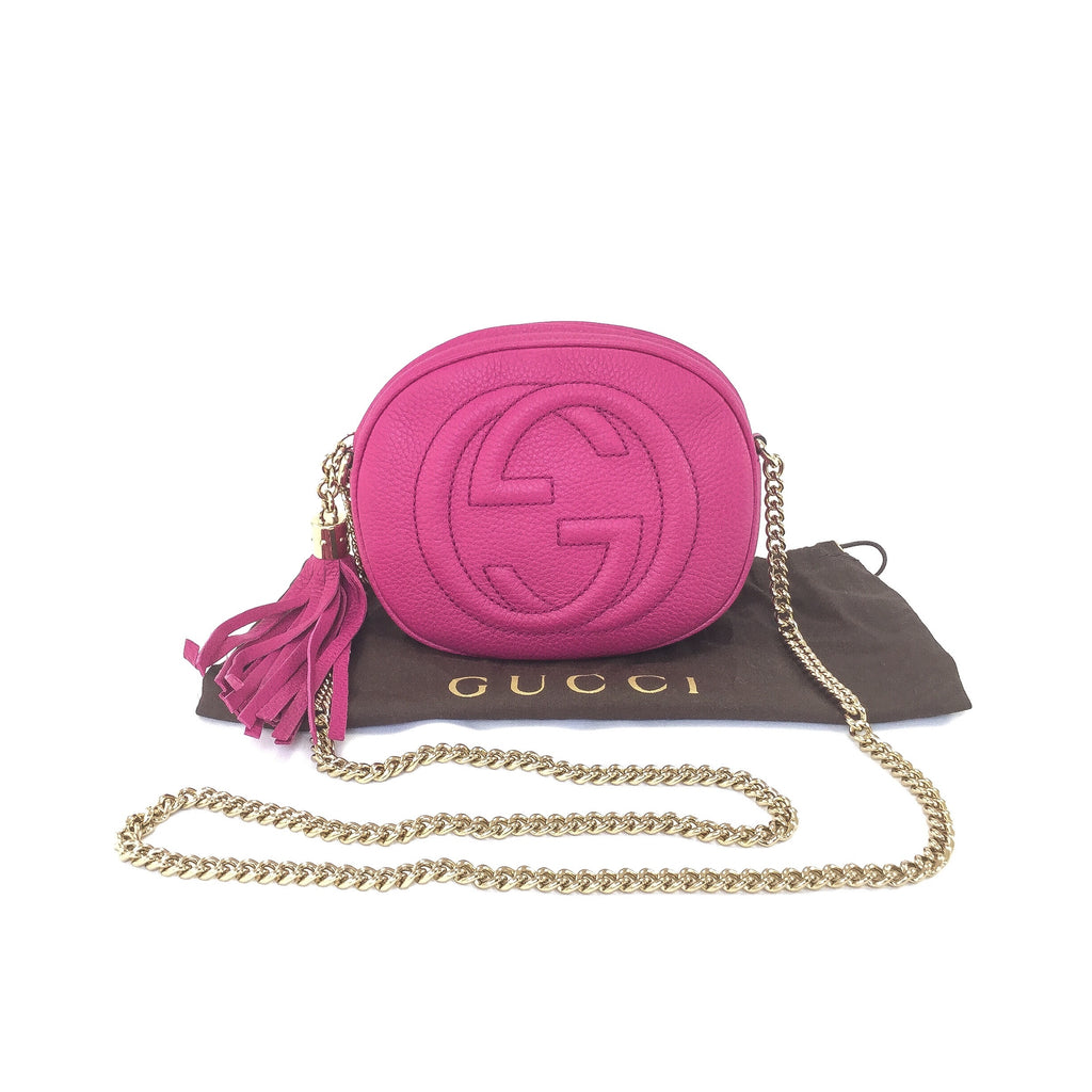 Gucci Soho Disco Chain Bag Mini