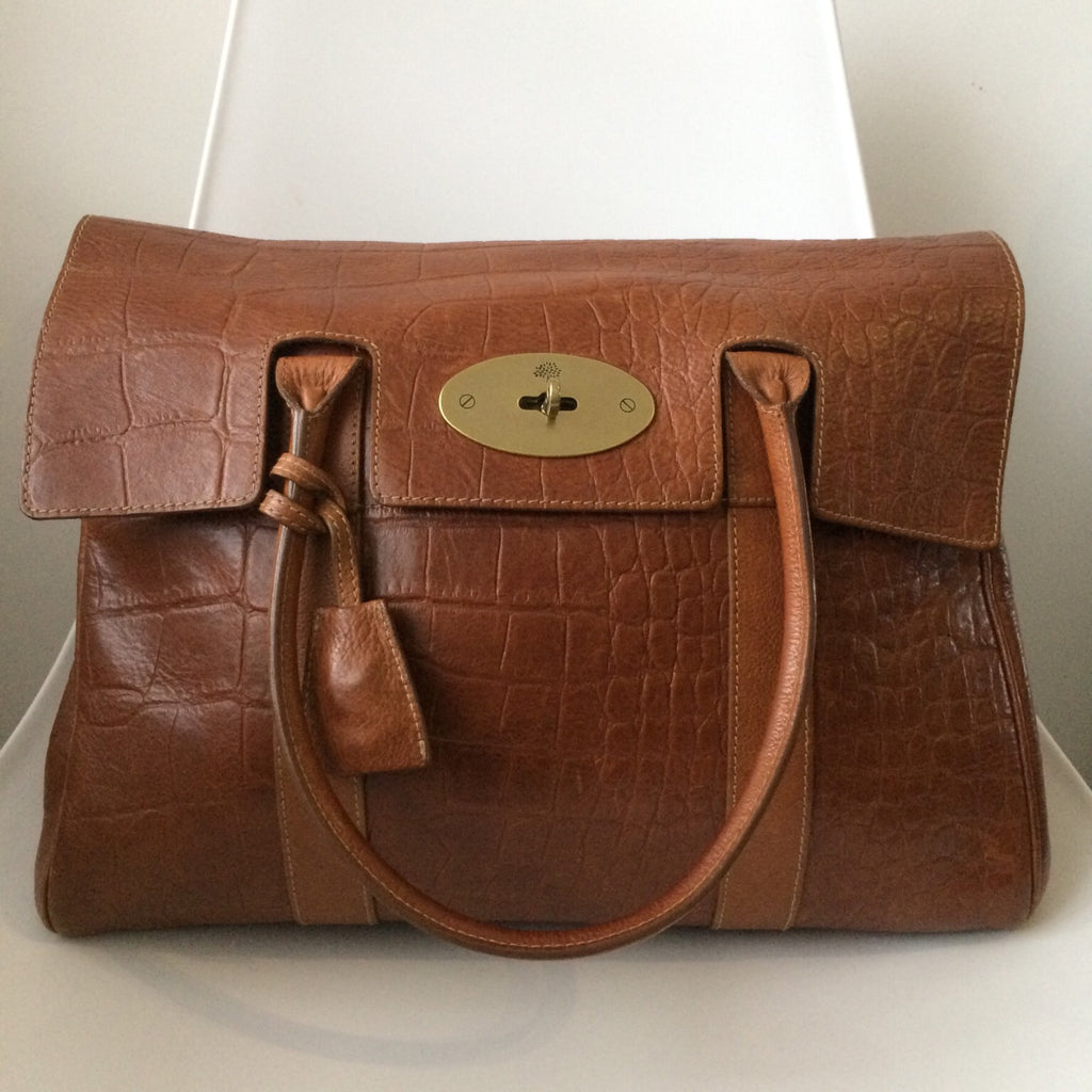 Mulberry Bayswater Mock Croc on Armcandy Bag Co