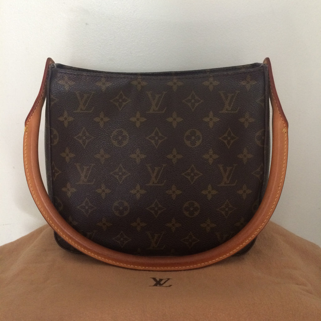 Louis Vuitton Looping MM Front Shot