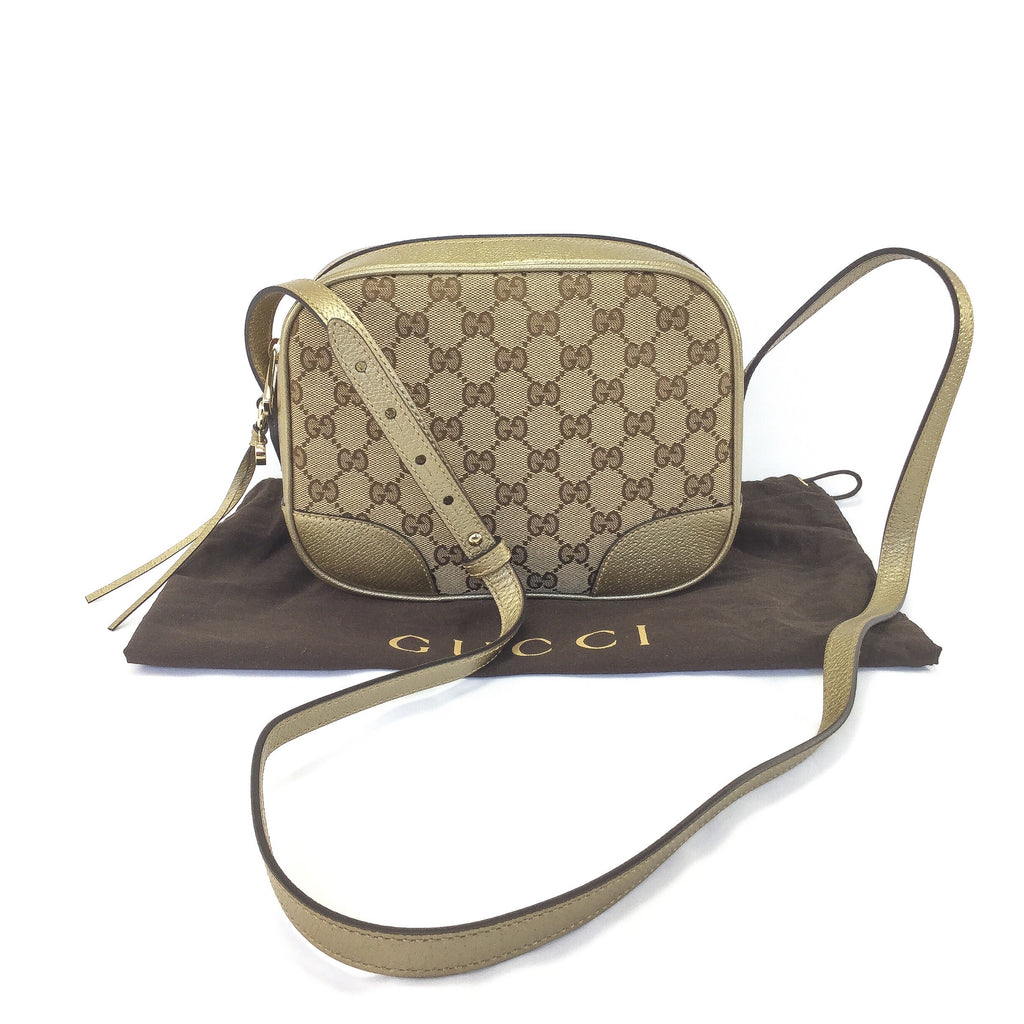 Gucci Monogram Bree Crossbody Mini