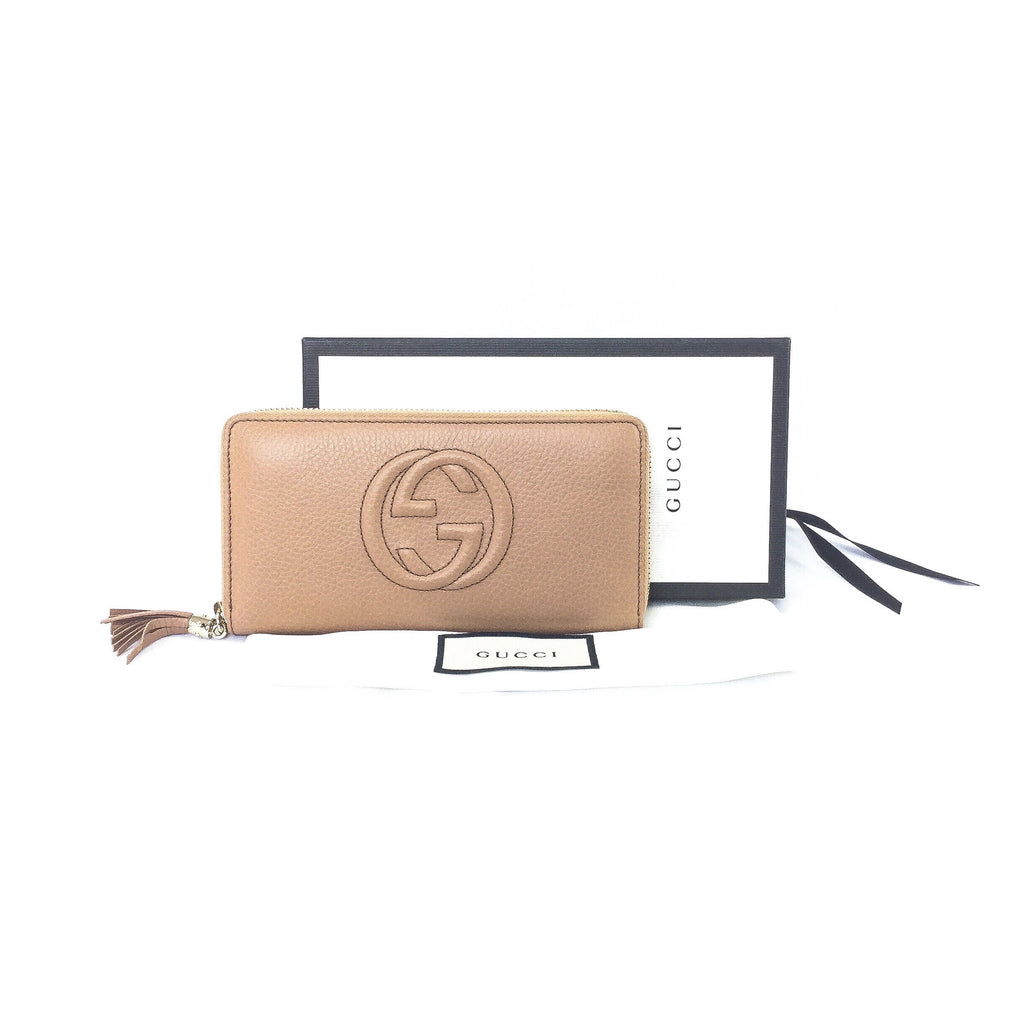 Gucci Soho Zip Around Purse
