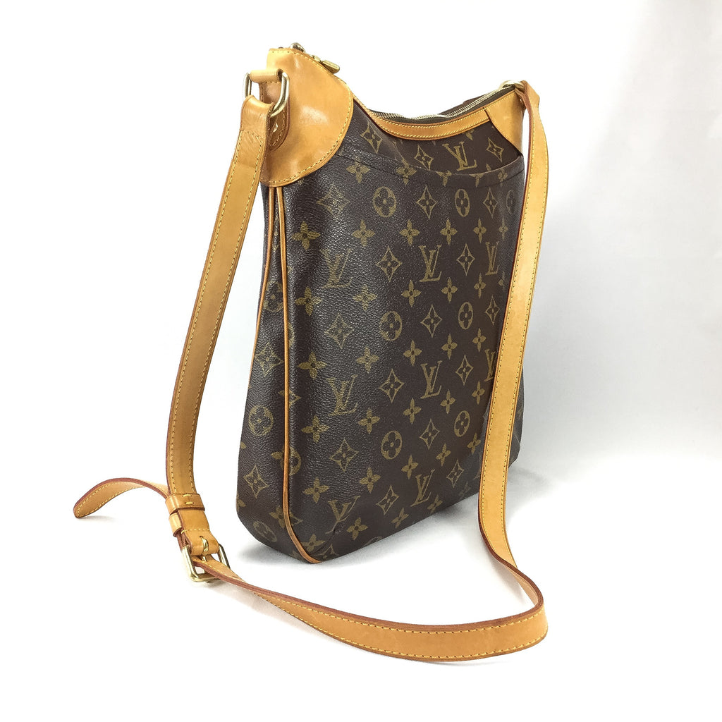 Louis Vuitton cross body side view