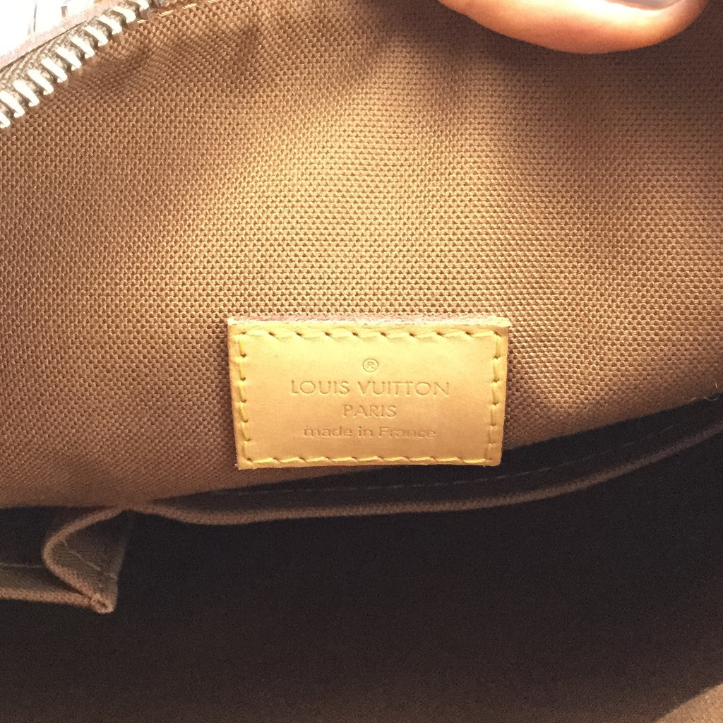 Louis Vuitton cross body inside label