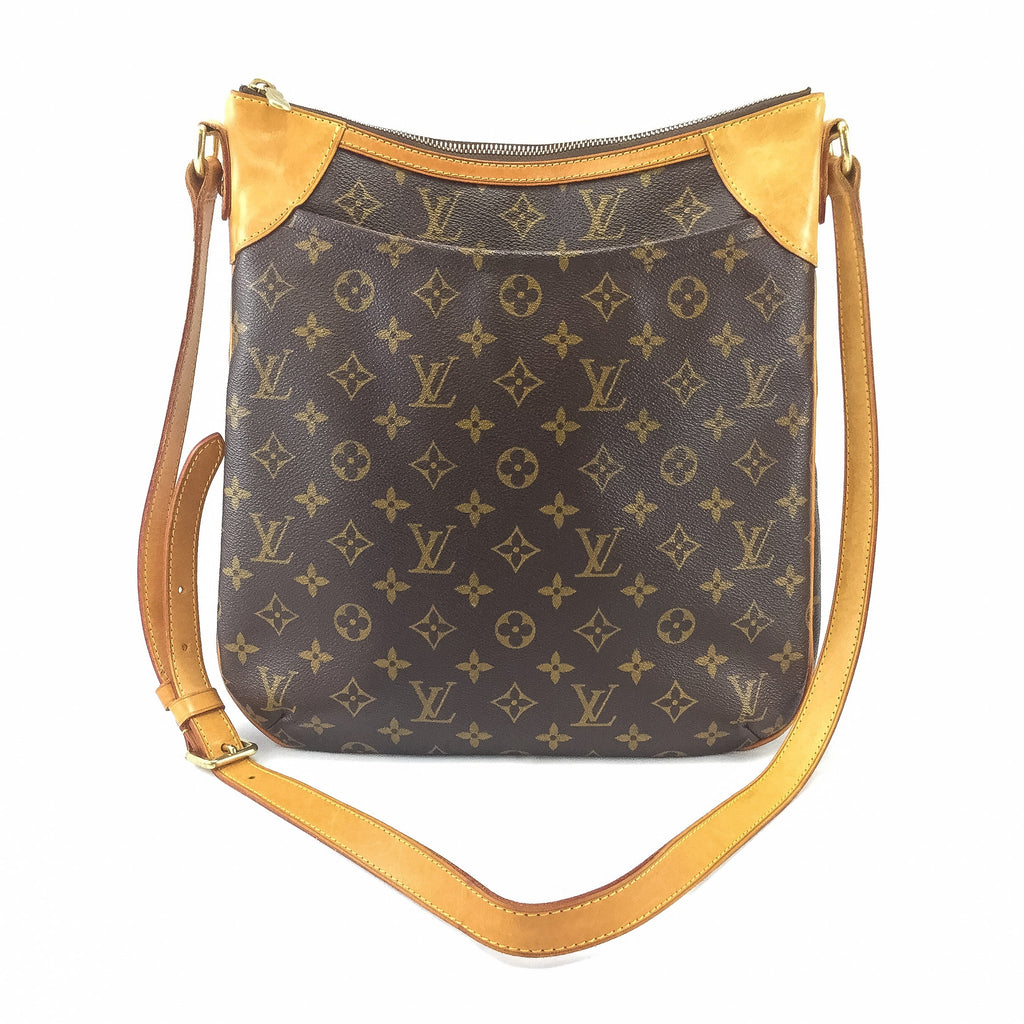 Louis Vuitton cross body front view