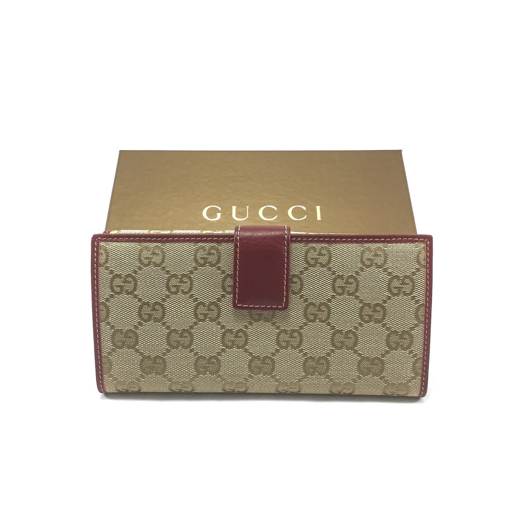 Gucci Continental Wallet back view