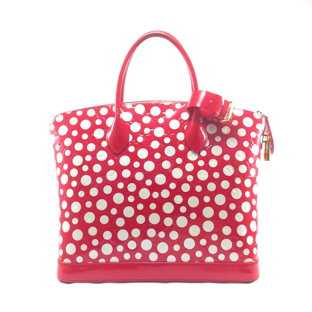 Louis Vuitton Lockit Yayoi Kusama Back View
