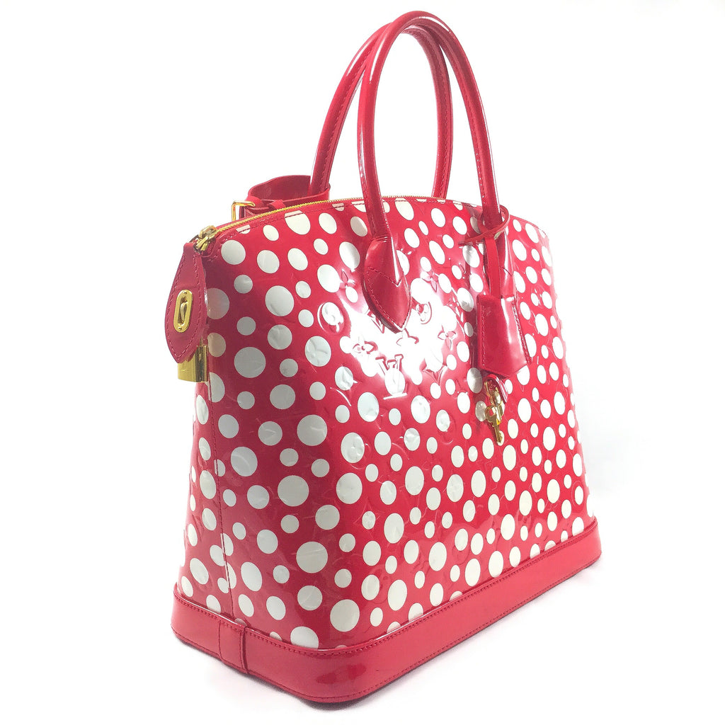 Louis Vuitton Lockit Yayoi Kusama Side View