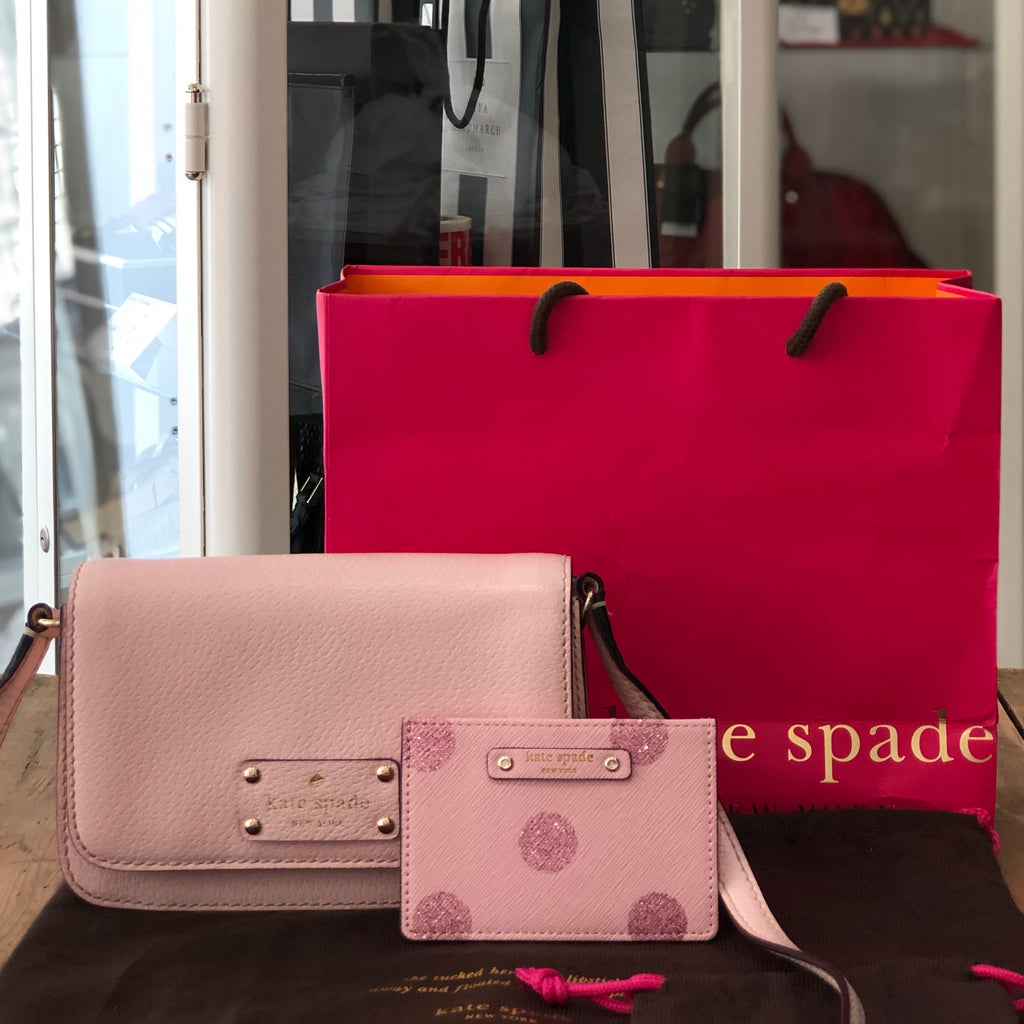 Kate Spade Crossbody and Cardholder