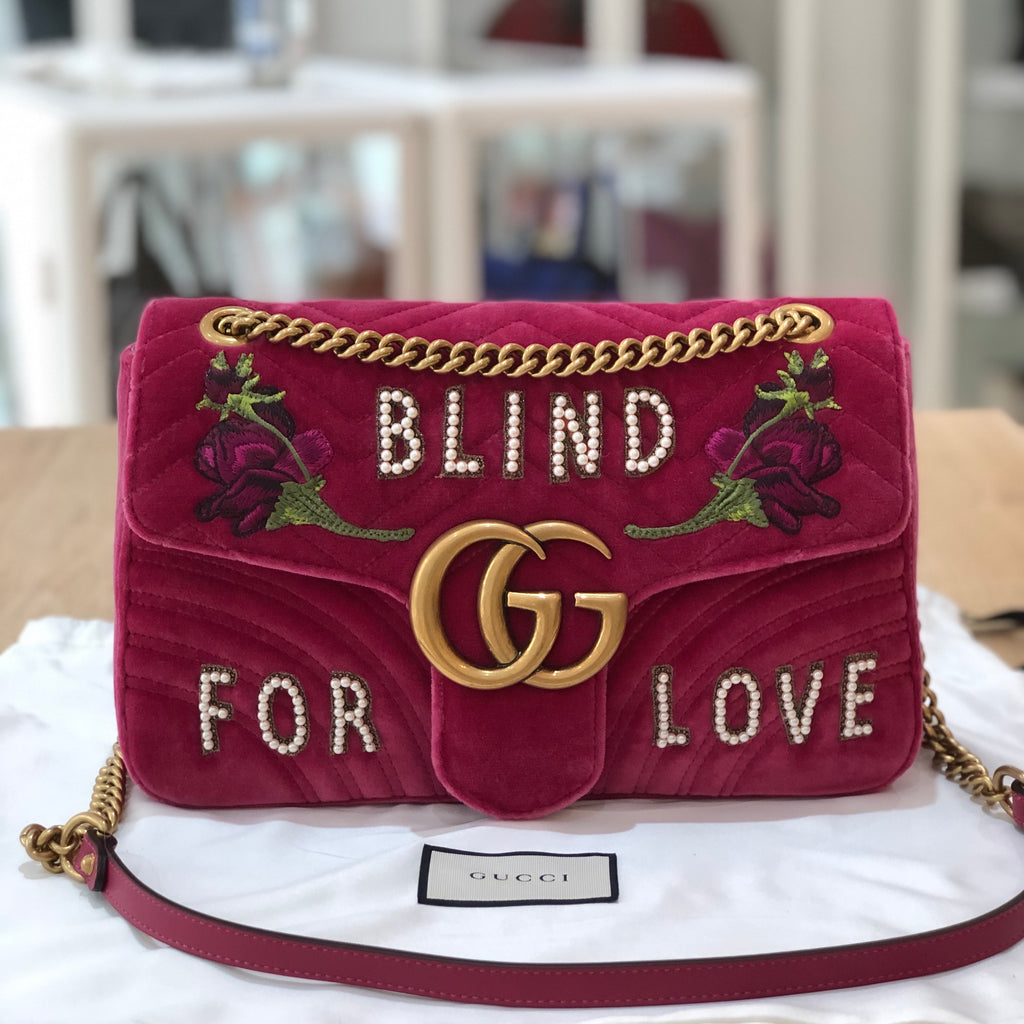 Gucci Marmont Blind For Love