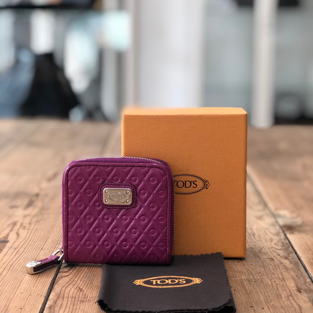 Tod's Mini Coin Case