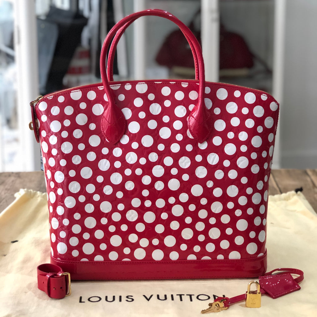 Louis Vuitton Lockit Yayoi Kusama Limited Edition