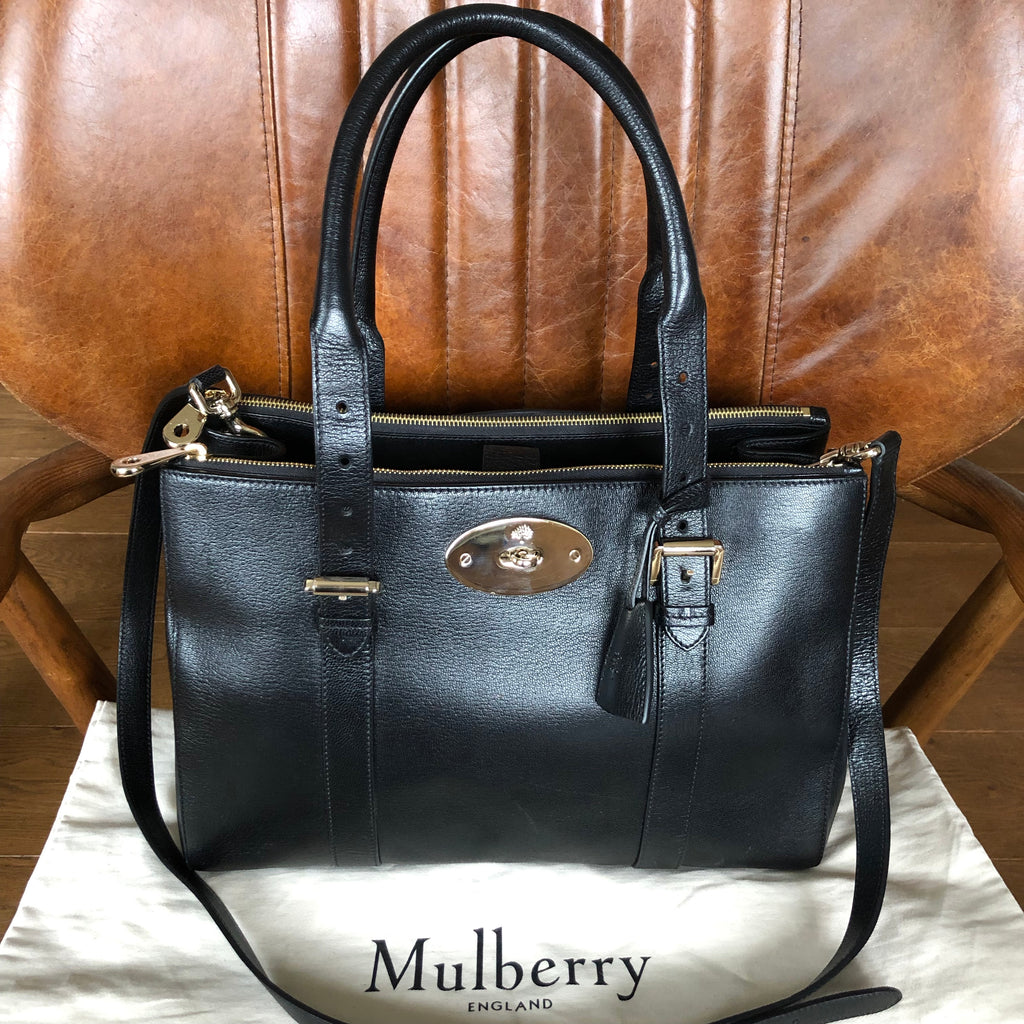 Mulberry Double Zip Bayswater
