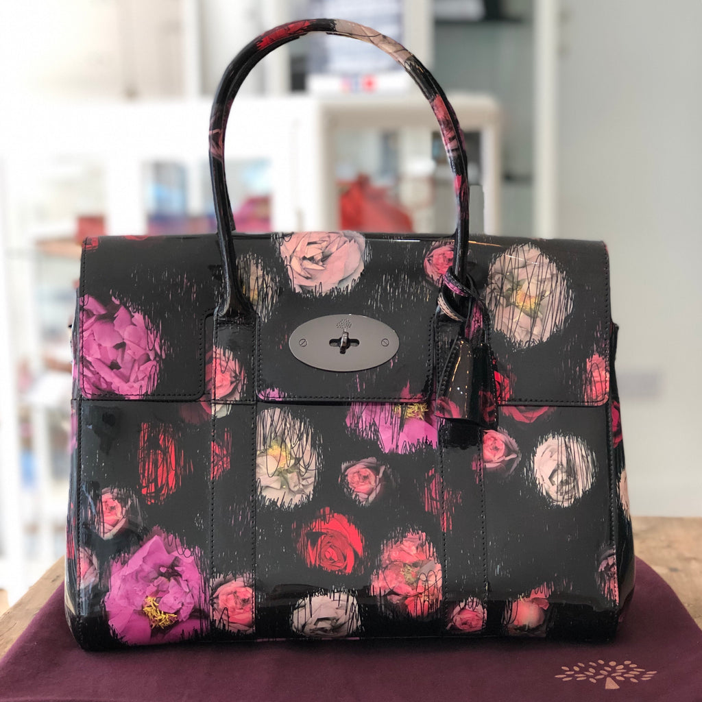 Mulberry Bayswater Scribbley Floral