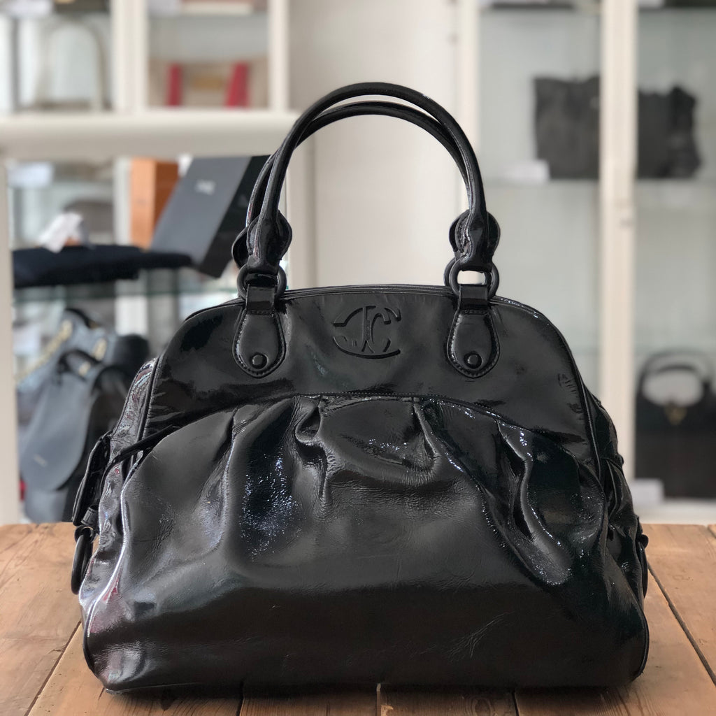 Just Cavali Patent Bag