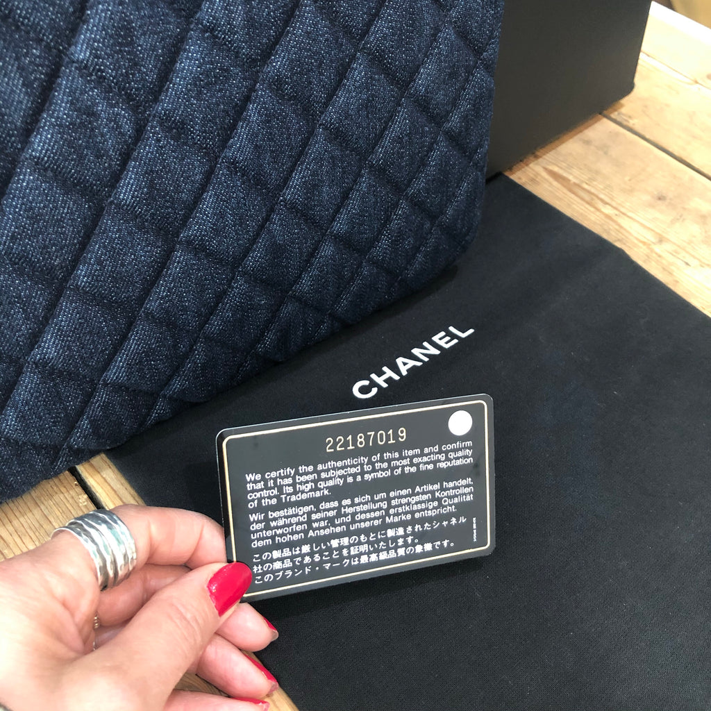 Chanel O Case Authentication Card