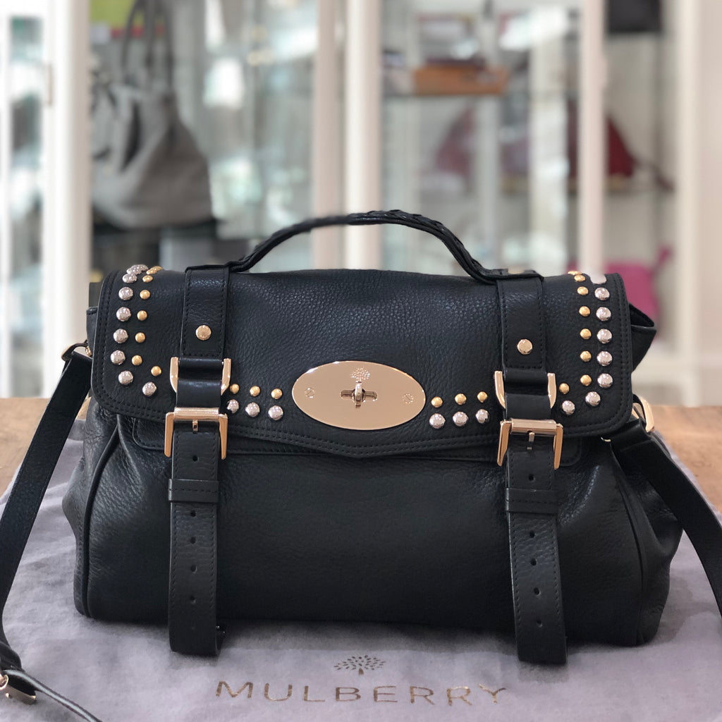 Mulberry Studded Alexa