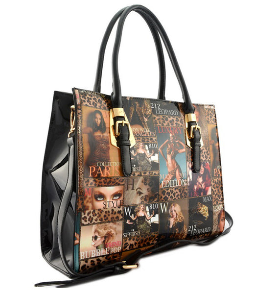 Sondra Empress Magazine Style Fashion Handbag