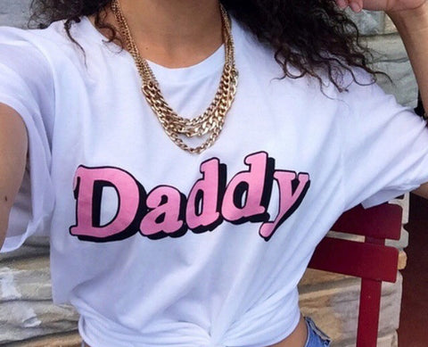 Daddy Pink Tee