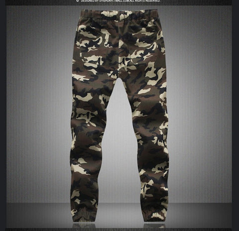 New Look Joggers In Camo Print