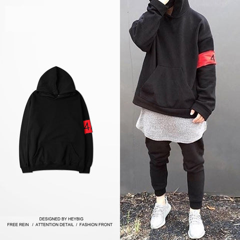 FourTwoFour ESSENTIAL PULLOVER HOODIE