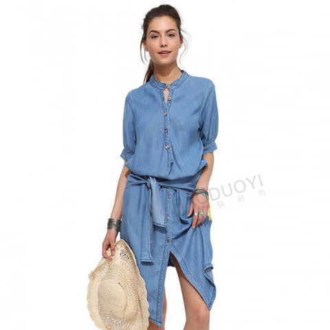 Serein x Denim Dress