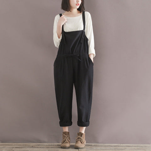 TALL Slim Pants in Check with Suspenders