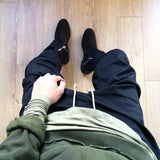 Serein Skinny Joggers Green/Black