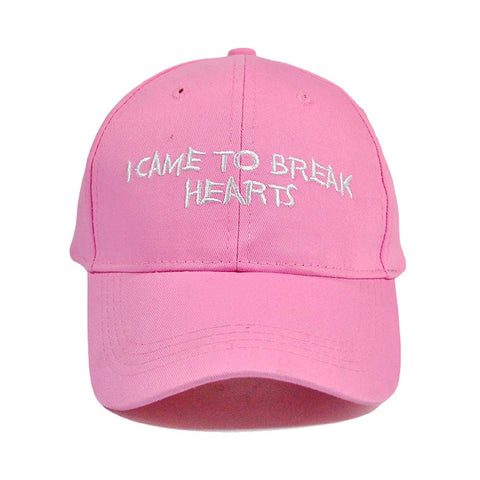 I Came To Break Hearts Snapback