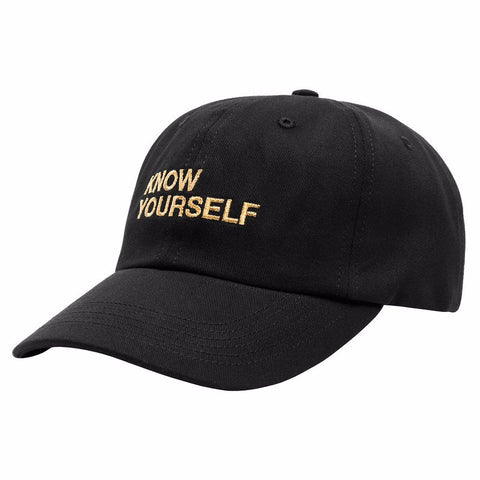 Know Yourself Black Snapback