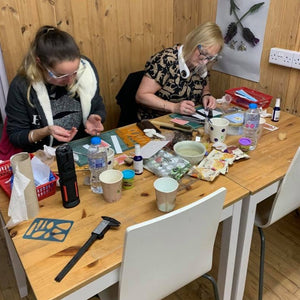 Silver clay beginners course