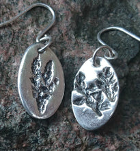 Load image into Gallery viewer, Handmade silver earrings