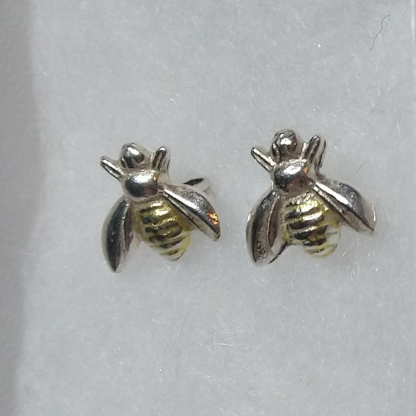 Gold and silver bees