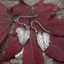 Load image into Gallery viewer, Natural leaf earrings