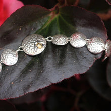 Load image into Gallery viewer, Natural silver bee bracelet