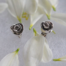 Load image into Gallery viewer, Rose stud earrings