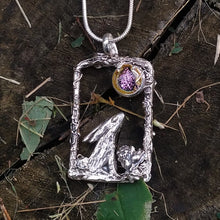 Load image into Gallery viewer, Luna hare pendant