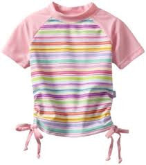 Short Sleeve Rashguard Girls' MnM