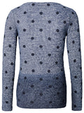 S0302 Pullover ls Dots